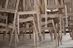 unfinished wooden chairs